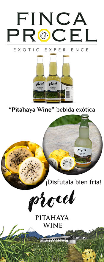 Roll-up Pitahaya Wine